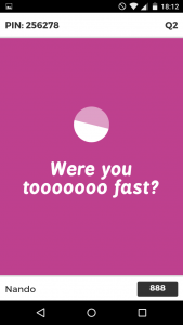 Waiting for results - Kahoot